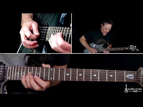 Skid Row - Youth Gone Wild Guitar Lesson (Full Song)