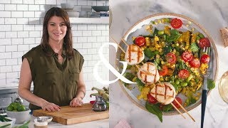 Gail Simmons makes easy Grilled Scallops | F&W Cooks