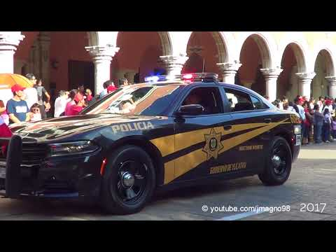 Yucatan State Police 2017 parade [SIRENS & LIGHTS] | #FUERZAMEXICO | 16/09/2017