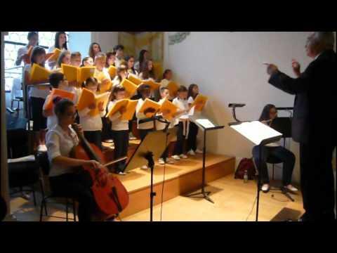 Coro Voci in Festa - Mantova -  Laudate Dominum di Lucio Campiani