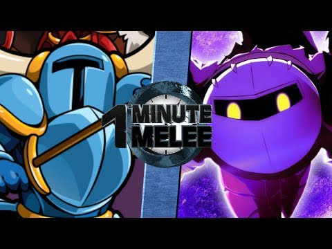 Shovel Knight vs Meta Knight - One Minute Melee S5 EP9