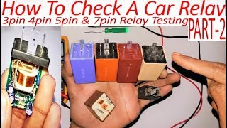 how to check car relay by crackover