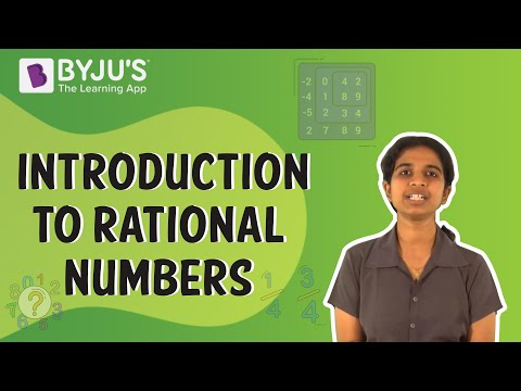 Class 6-10 - Introduction to Rational Numbers