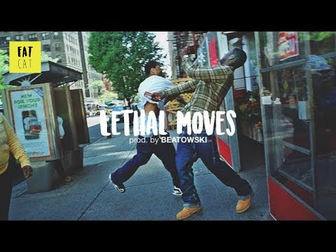 (free) 90s Old School boom bap type beat hip hop instrumental | 'Lethal Moves' prod. by BEATOWSKI
