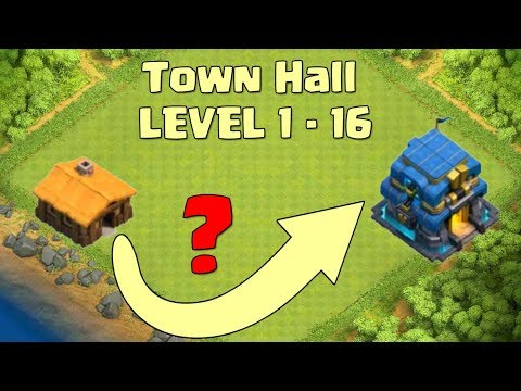 Upgrade Town Hall Level 1-16, Clan Castle Level 1-8, Dark Barrack, Etc | Clash Of Clans
