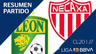 Resumen y Goles | León vs Necaxa | Jornada 7 - CL 2020 | Liga BBVA MX