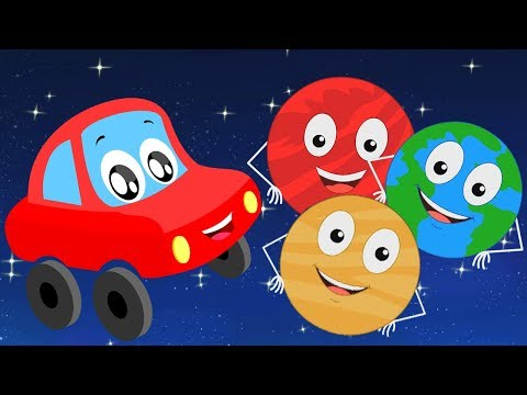 Planetenlied | Vorschulreime | Planeten lernen | Kids Learn | Solar System Rhymes | Planets Song
