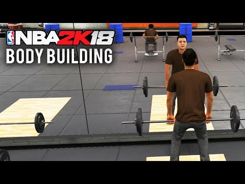 NBA 2K18 - GETTING RIPPED!  (All Body Building Workouts in Gatorade Training Facility)