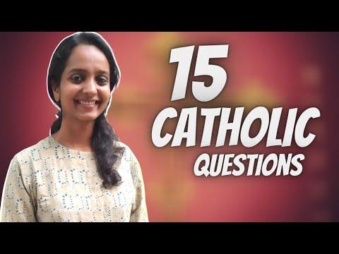 15 CATHOLIC questions ( Nikita Maria Thomas )