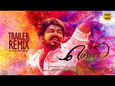 Mersal -  Official Tamil Trailer Remix | Vijay + Surya | A.R.Rahman | Atlee | Kamal Varghese