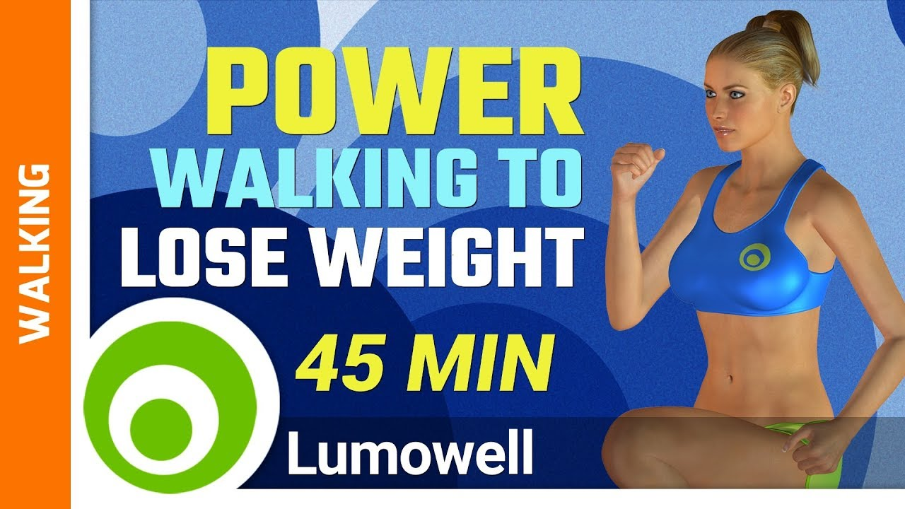 Power Walking to Lose Weight - YouTube