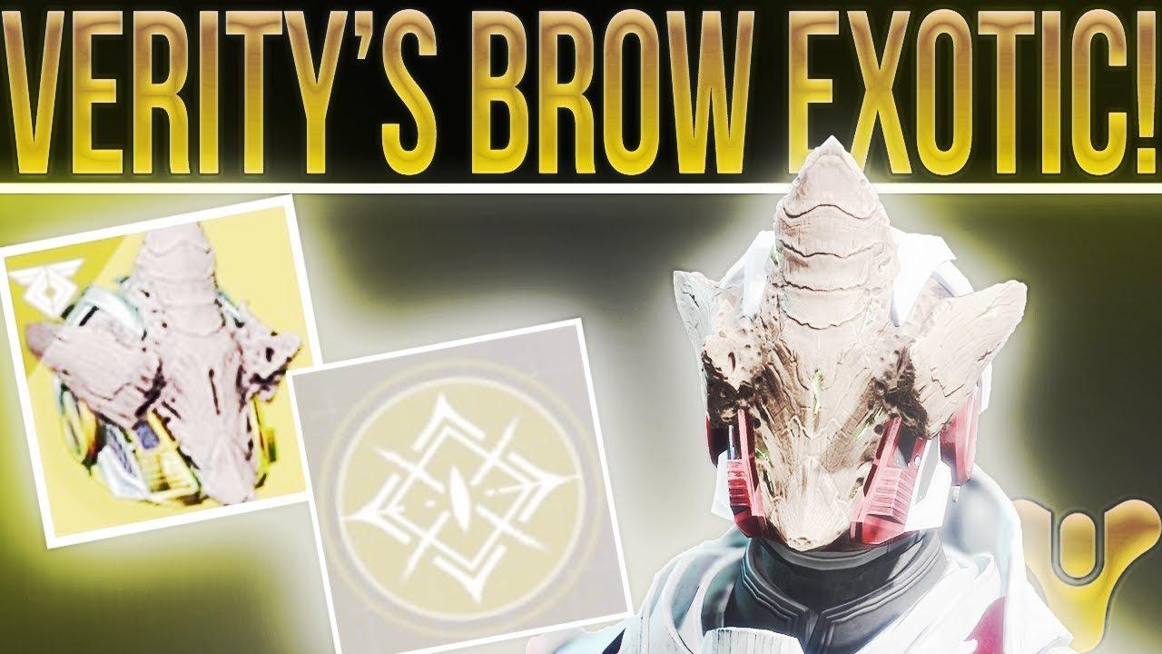 veritys brow destiny 2