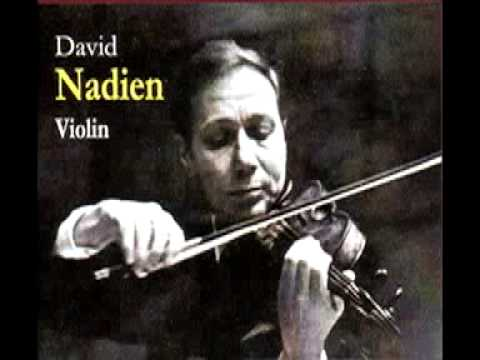 David Nadien plays the Finale of the Tchaikovsky Concerto