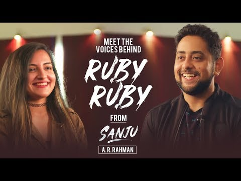 "Meet the Voices behind ""Ruby Ruby"" from Sanju 