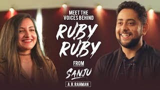 """Meet the Voices behind """"Ruby Ruby"""" from Sanju 