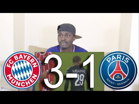 Barcelona Fan React To ● Bayern Munich vs PSG 3-1 ● All Goals Highlights.