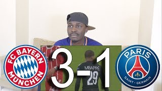 Barcelona Fan React To ● Bayern Munich vs PSG 3-1 ● All Goals Highlights.