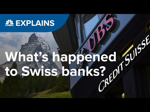 Are Swiss banks in trouble? | CNBC Explains