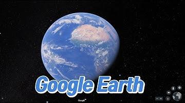[구글어스] 공짜로 떠나는 세계여행 / 구글어스 사용법(무설치, 무료) / 크롬