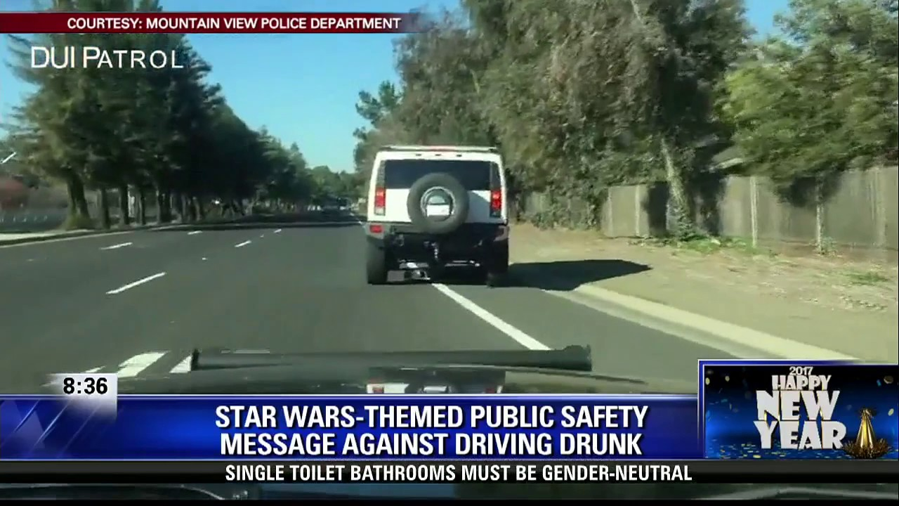 Mountain View Police use 'Star Wars' in PSA - YouTube