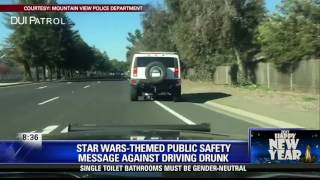 Mountain View Police use 'Star Wars' in PSA