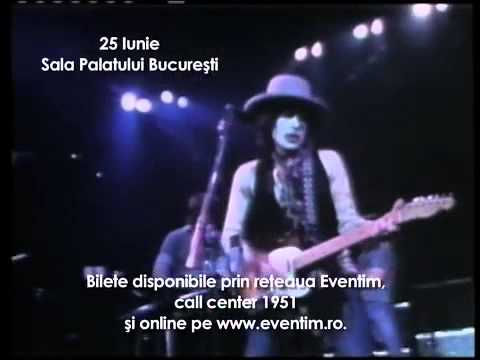 Bob Dylan - TV Spot Antena 1-  Bucharest, Romania