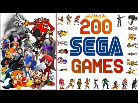 Sega Tribute 200 Games HD
