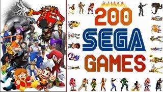 Sega Tribute 200 Games HD