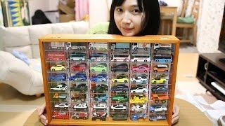 トミカを飾るディスプレイを買った Toy Car Collection Boxes thumbnail