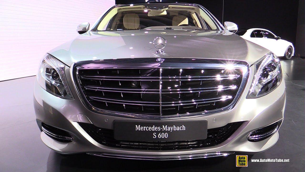 2016 MercedesBenz Maybach SClass S600  Exterior Interior