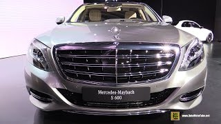 2016 Mercedes-Benz Maybach S-Class S600 - Exterior, Interior Walkaround - Debut at 2014 LA Auto Show