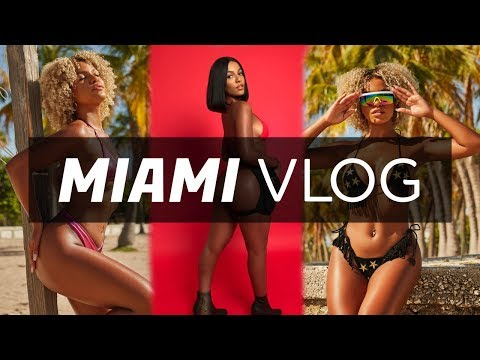 12 Days In Miami Vlog | BTS Photoshoots, Getting Laser, Dying My Hair & More | Kamrin White