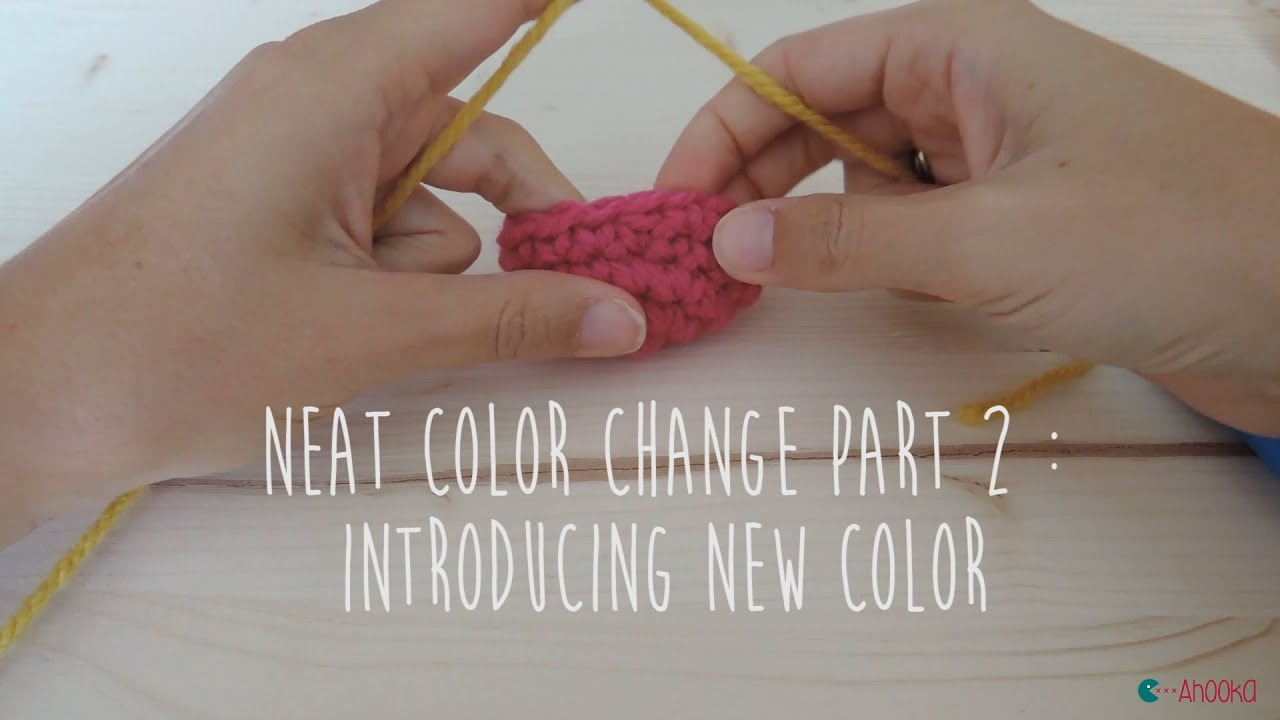 Crochet Quickie: Changing Colour (right-handed version) - YouTube | 720x1280