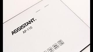Розбирання Assistant AP-110