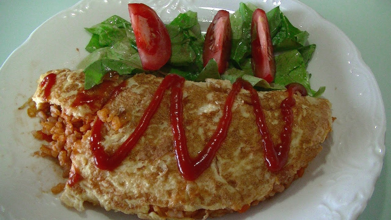 how to make omurice youtube