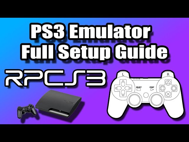 how to ps3 emulator