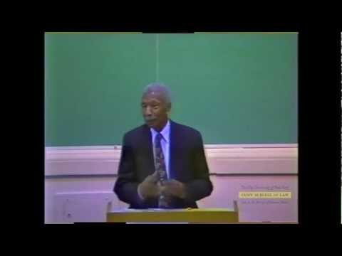 Judge Robert L. Carter Discusses Brown v. Board of Education