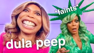 wendy williams being a LIVING MEME for 4 minutes straight
