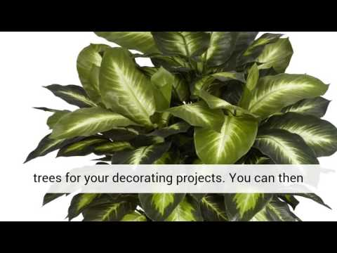 Decorating with silk flowers plants and trees youtube decorating with silk flowers plants and trees mightylinksfo