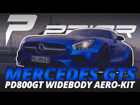 PRIOR-DESIGN PD800GT Widebody Aero-Kit for Mercedes GT S AMG