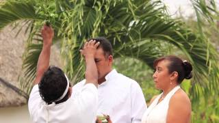 Mayan Wedding Ceremony - Boda Maya