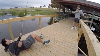 One of apbassing's most viewed videos: 1rod1reel Freaks out...
