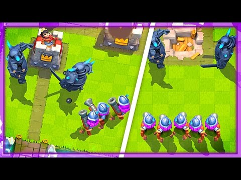 HEAVY 3 MUSKETEER + PEKKA DECK! Clash Royale