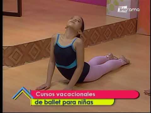 Cursos vacacionales de ballet para niñas