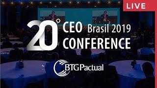 20º CEO Conference - Primeiro dia - BTG Pactual