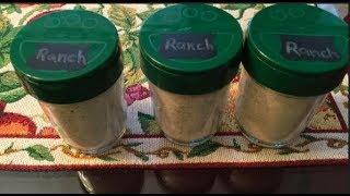 #869 - Homemade RANCH Seasoning MIX