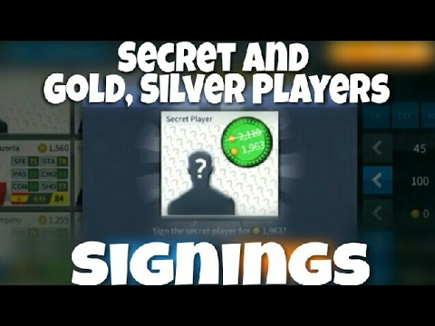 Dream League Soccer 2017 Compilation Secret Players And Gold, Silver Players Signings