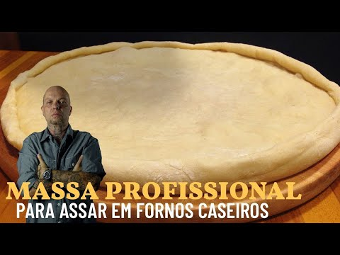 Massa De Pizza Profissional Fácil