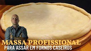 Massa De Pizza Profissional Fácil...