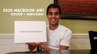 2020 MACBOOK AIR UNBOXING + REVIEW!!!!
